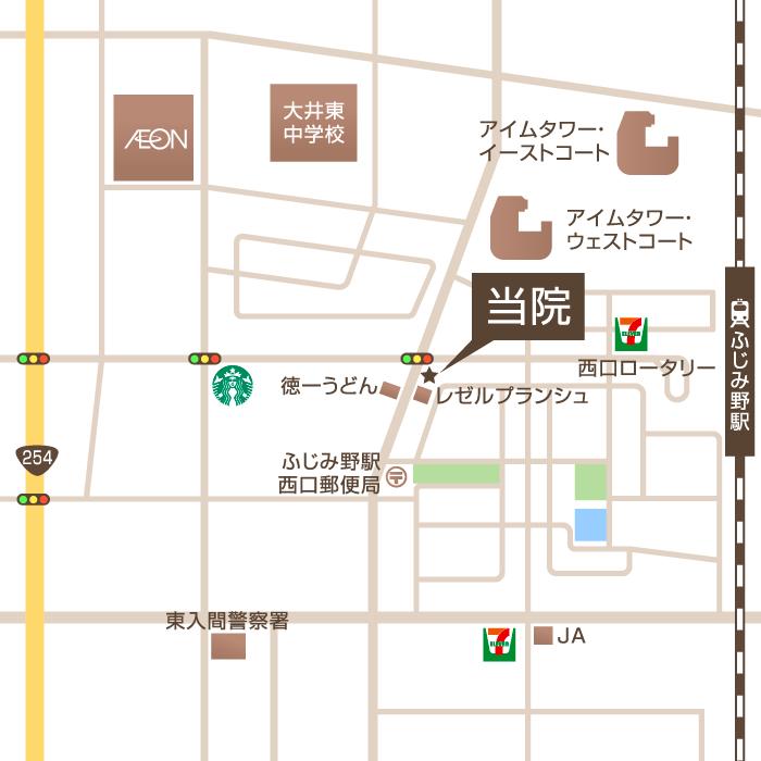 埼玉県富士見市ふじみ野西1丁目17-14 ウエストアルディール1F
